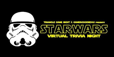 STAR WARS Virtual Trivia w/ Triangle Game Night tickets