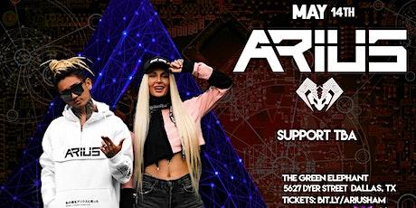 ARIUS 5/14 - Dallas, TX tickets