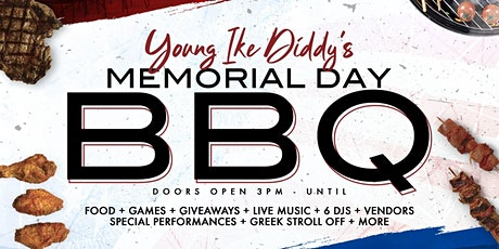 Young Ike Diddy's Memorial Day BBQ @ Railgarten tickets