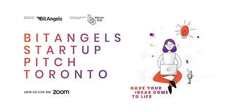 BitAngels Toronto Virtual Event (May 2021) tickets