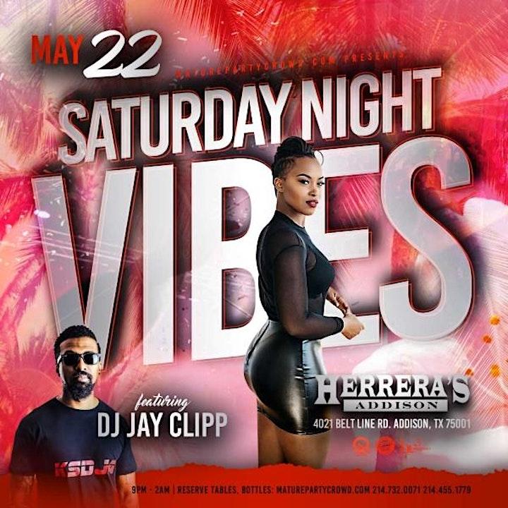 SATURDAY NIGHT VIBES @ HERRERA'S ADDISON w/JAY CLIPP image