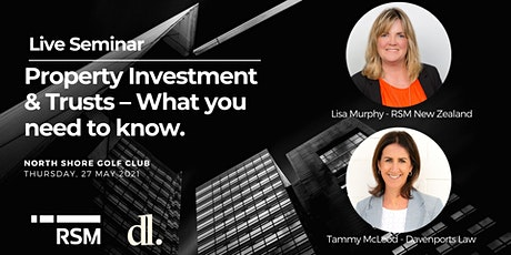 Live Seminar - Property Investment & Trusts – What you need to know. tickets