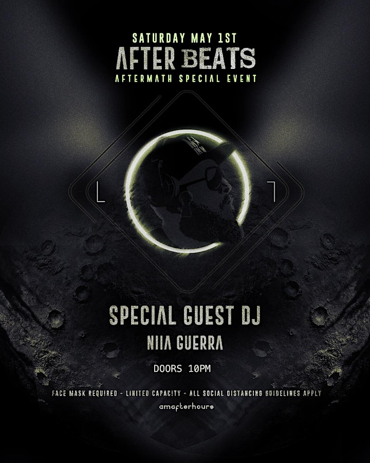 AFTER BEATS [Special Guest DJ / Niia Guerra] SAT.MAY.1st /Aftermath special image