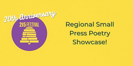 Regional Small Press Poetry Showcase! tickets