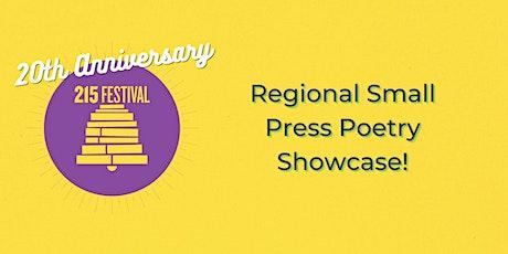 Regional Small Press Poetry Showcase! tickets