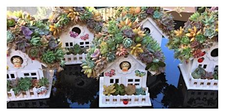 Succulent Birdhouse Workshop tickets