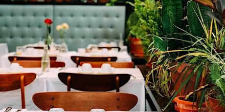 Descripción del Fondo para la Revitalización de los Restaurantes tickets