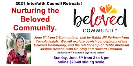 Nurturing the Beloved Community Retreats billets