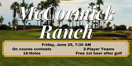Golf Tournament  at McCormick Ranch Palm course tickets