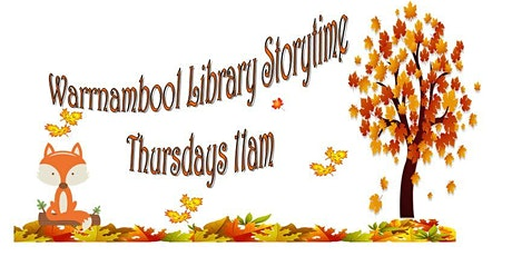 Warrnambool Library Storytime, Thursdays 11am tickets