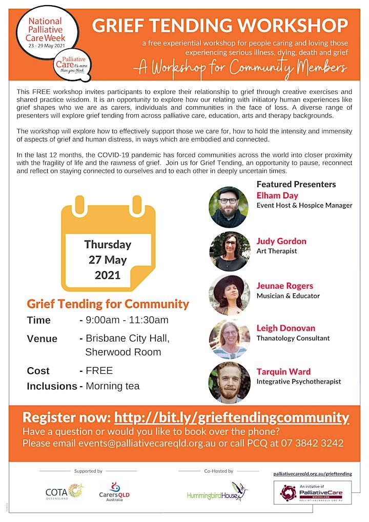 Grief Tending Workshop for Community Members image