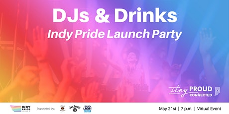 DJs & Drinks: Indy Pride Launch Party tickets