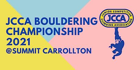 JCCA Bouldering Championship 2021 tickets