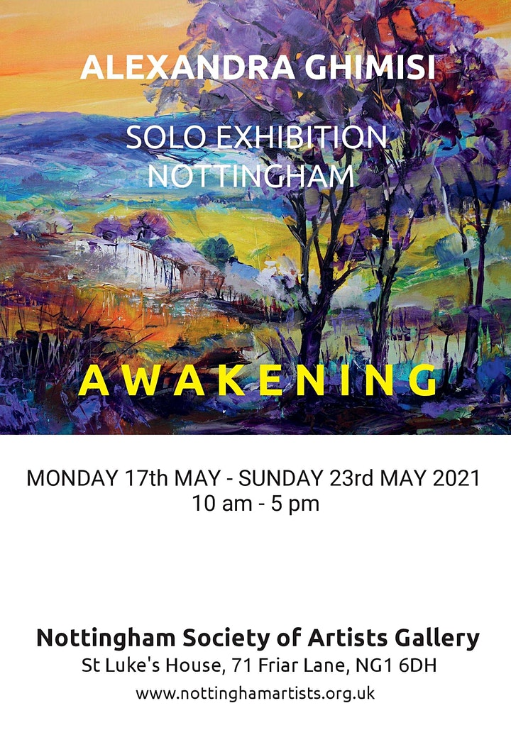 Alexandra Ghimisi Solo Exhibition image