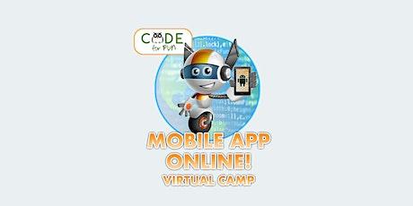 Mobile App Development for Beginners: Online Summer Camp! -  7/6-7/9 tickets