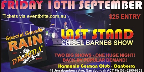 DOUBLE HEADER - DRAGON/CHISEL BARNES SHOW tickets