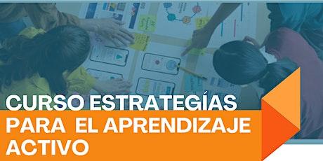 Curso: Estrategias para el aprendizaje activo entradas