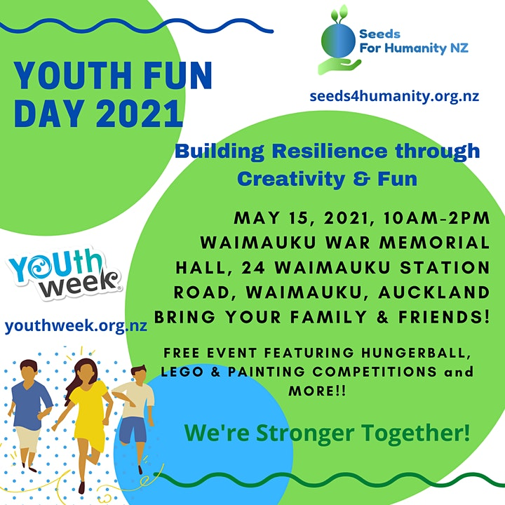 Youth Fun Day 2021 - Building Resilience through Creativity & Fun image