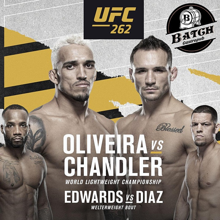 UFC 262: Oliveira vs. Chandler at Batch Delray! image
