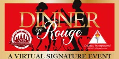 Dinner en Rouge Virtual Fundraiser tickets