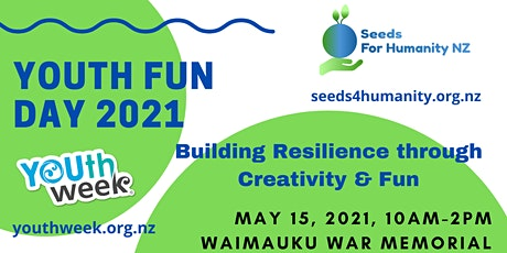 Youth Fun Day 2021 - Building Resilience through Creativity & Fun tickets