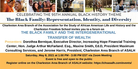 The Black Family and the Intergenerational Transfer of Wealth tickets