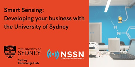 Smart Sensing: Developing Your Business with the University of Sydney tickets