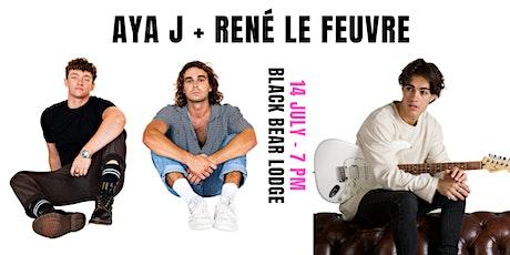 AYA J Tenth Street Tour + René Le Feuvre tickets