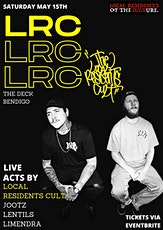 The Local Residents Cult & friends (live)at The Deck - Saturday May 15th! tickets