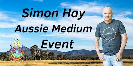 Aussie Medium, Simon Hay at the Merrigum Community Hall tickets