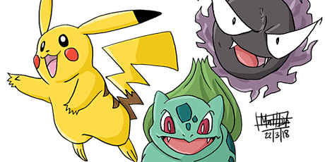 Comic Gong Presents: Drawing Pokémon Characters tickets