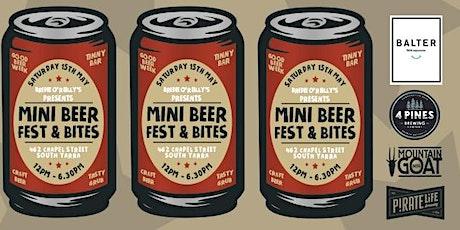 Mini Beer Fest & Bites tickets