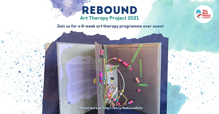 Rebound Art Therapy Project (for young working adults) - Tuesdays image