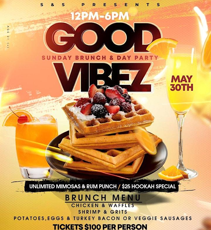 S & S Presents Good Vibez Sunday Brunch / Day Party image