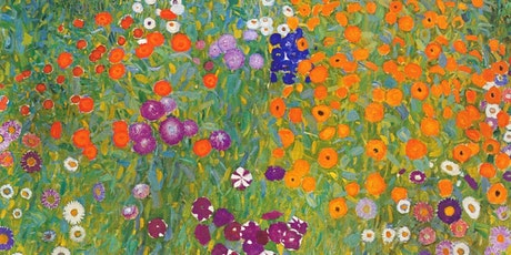 Flower Garden by Gustav Klimt,  Austrian Symbolist Painter, Art  Class tickets