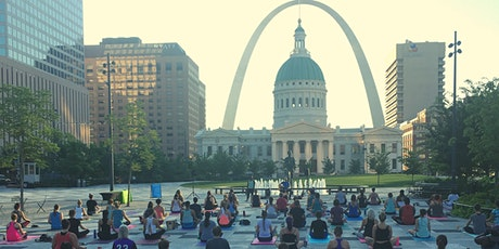 Sunrise Yoga Series at Kiener Plaza tickets