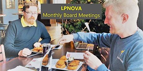 LPNOVA Online Board Meeting tickets