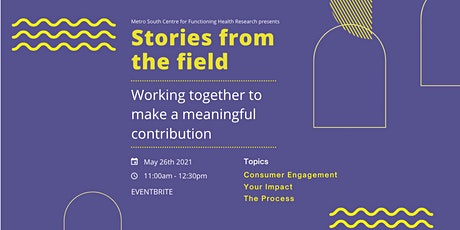 Stories from the Field tickets