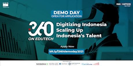 i360 Edutech : Democratising Access to Education in Indonesia tickets