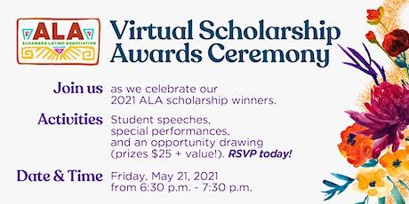 Virtual Scholarship Awards Ceremony - Alhambra Latino Association tickets
