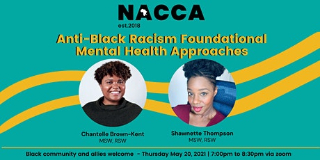 Anti-Black Racism Foundational Mental Health Approaches tickets