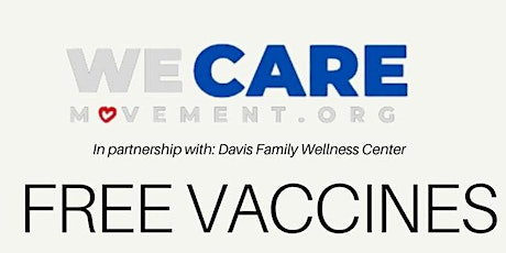 We Care Movement - Free Vaccines boletos