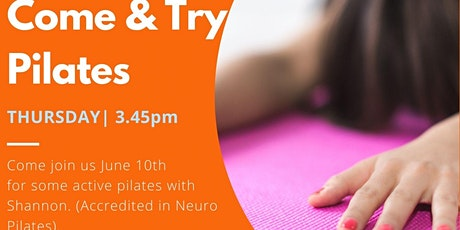 Come & Try Pilates with Shannon tickets