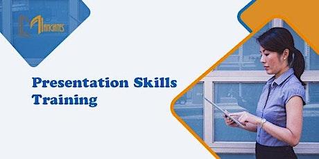 Presentation Skills 1 Day Virtual Live Training in Perth tickets