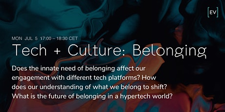 Technology + Culture: Belonging tickets
