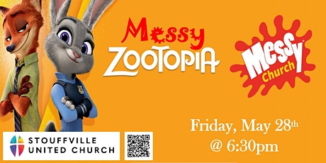MESSY CHURCH At Stouffville United - Zootopia tickets