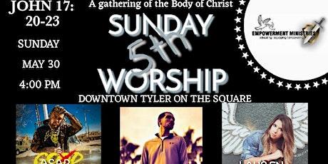 5th Sunday Worship tickets