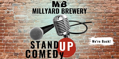 the Brewery Comedy Tour (OUTDOORS) at MILLYARD tickets