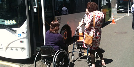 The transport experiences of disabled people - Wellington Workshop tickets