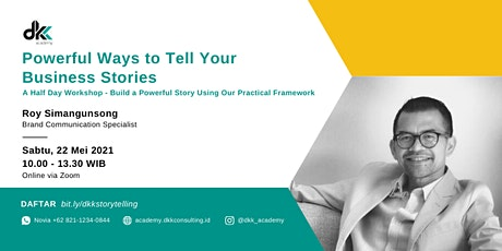 Powerful Ways to Tell Your Business Stories tickets